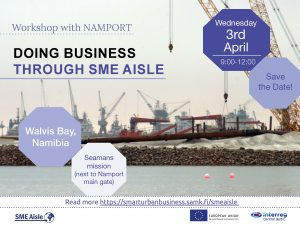 SME Aisle workshop with Namport 3.4.2019