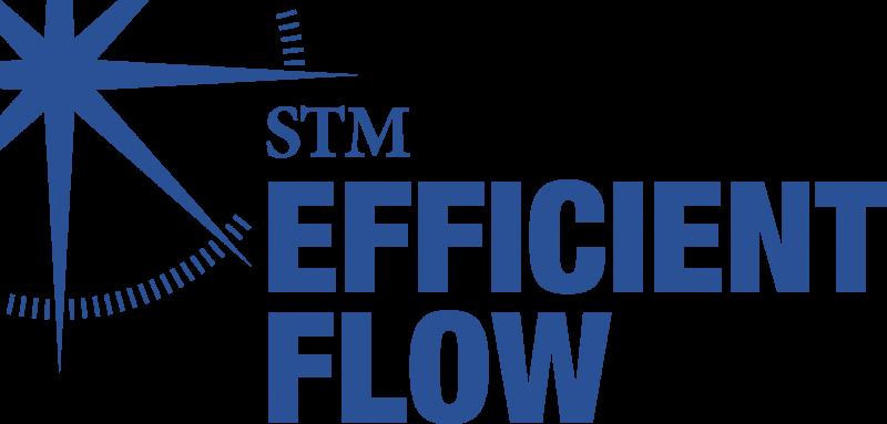 STM EfficientFlow logo